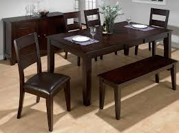 Cheap Dining Room Furniture Modern Bench Style Dining Table Set Ideas Homesfeed