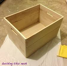 Plans To Build Wood Storage - small wood storage box plans