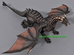 dragon 3d model free 3d models