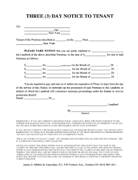 printable version of fdcpa 3 day notice to tenant with public assist notice and fdcpa notice