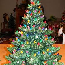 ceramic christmas tree with lights best vintage ceramic christmas trees products on wanelo
