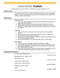 customer service representative cv example for retail livecareer