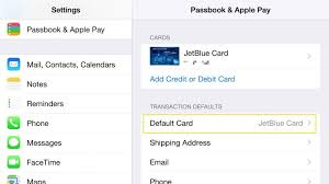 how to set default apple pay cards on iphone apple watch