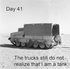 Tank Meme - field diary of a crusader tank they still do not realize know