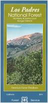 California S Great America Map by Los Padres National Forest Maps U0026 Publications