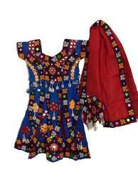 colorful indian dress kids garba chaniya choli w shell work