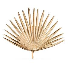 Threshold Home Decor by Threshold Cast Metal Gold Palm Leaf 17 Originally 20 Target
