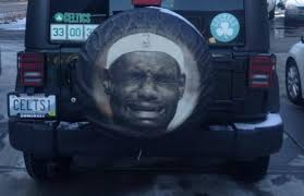 lebron james jeep this crying lebron spare tire cover is trolling at its finest
