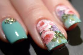 love varnish a nailart skittlette using goodies from she sells