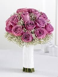Wedding Bouquets The Flower Garden Lavender Rose U0026 Gypsophila Bridal Bouquet