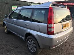 honda hr v 1590cc petrol 5 speed manual 5 door estate 52 plate 27