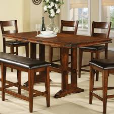 Dining Room Table Sets With Leaf Height Dining Table