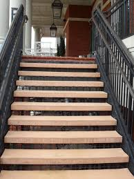 century group provides custom concrete stair treads for north