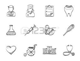 medical icon series in single color royalty free cliparts