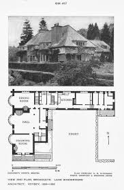 grayson manor floor plan 105 best architect c f a voysey images on pinterest cottages