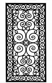 wrought iron panel Google Search wrought iron