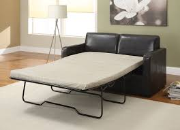 Sleeper Sofas With Air Mattress Living Room Furniture Saving Small Spaces With Black Leather