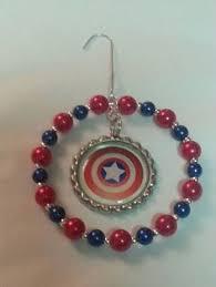 captain america civil war hallmark ornament new in box