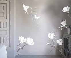 bambizi designer nursery wall stickers flower fairy wall stickers