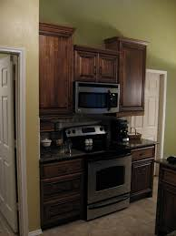 42 Inch Kitchen Cabinets by Coffee Stain And Glaze Kitchen