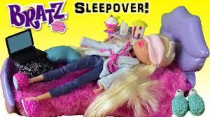 bratz doll sleepover bed bratz cloe sleepover party doll toy