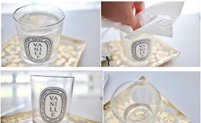 remove wax from diptyque candles in 5 minutes