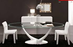 Glass Dining Room Furniture Dining Room Design Glass Dining Table Design Italian Dining Room