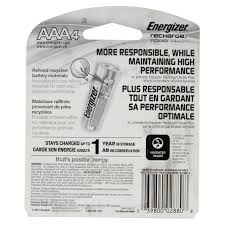 energizer nimh rechargeable batteries aaa 4 batteries pack