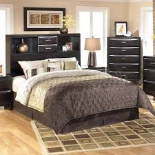 bookcase king size storage bed with bookcase headboard bookcase