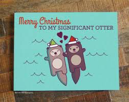 cute christmas cards etsy