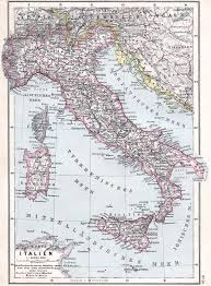 Map Of Italy by File Map Of Italy 1905 Jpg Wikimedia Commons