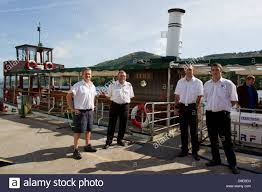 windermere lake cruises at lakeside on lake windermere the crew of