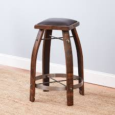 crate and barrel bistro table barrel bar stools vintage oak wine stool with whiskey finish and diy