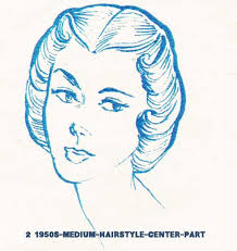 easy 1930 hair 1950s hairstyles chart for your hair length glamourdaze