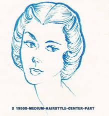 1940s hair styles for medium length straight hair 1950s hairstyles chart for your hair length glamourdaze