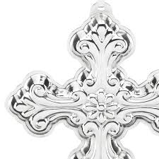 silver cross 2016 reed and barton ornament