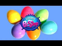 littlest pet shop easter eggs easter eggs littlest pet shop 6 pack lps huevos