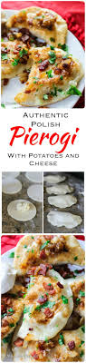 authentic pierogi with potatoes and cheese recipe