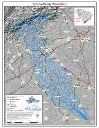 Clemson University Map Resources Reedy River