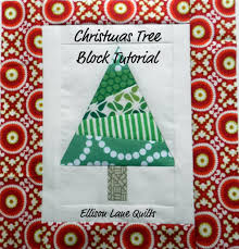 christmas tree quilt block tutorial ellison lane a great