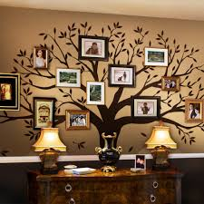 wall decal tree with frames interior design for home remodeling