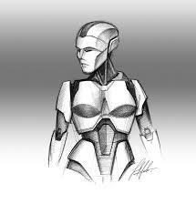 p i t g i r l u0027 female robot concept design