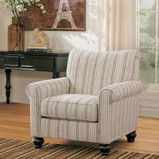 milari linen chair signature design by milari linen maple striped accent