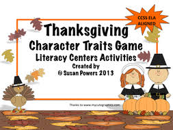 a thanksgiving guess the characters traits by susanpowers09