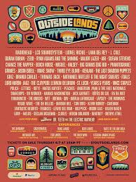 Lights All Night 2014 Lineup Outside Lands 2017 Past Lineups