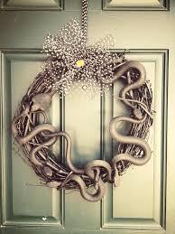 halloween snake wreath u2013 showmemama com