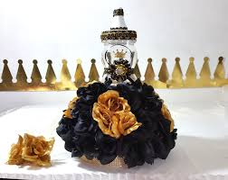 black u0026 gold baby shower centerpiece with flowers for prince