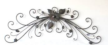 Iron Wrought Wall Decor Zspmed Of Wrought Iron Wall Decor Vintage About Remodel Designing