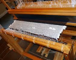 sandra u0027s loom blog pendleton selvedge rug begun