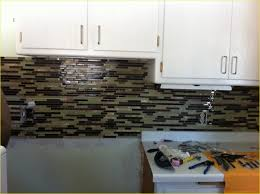 Grout Kitchen Backsplash Wonderful Kitchen Backsplash No Grout Install Peel And Stick Vinyl